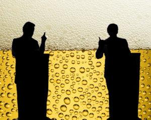 eleições e cerveja