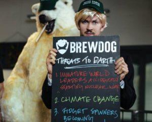 brewdog quase apoiou evento que distribuiria cerveja a apoiadores de Trump no Reino Unido