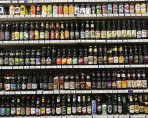 prateleira cerveja black friday