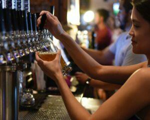 mulheres no meio cervejeiro