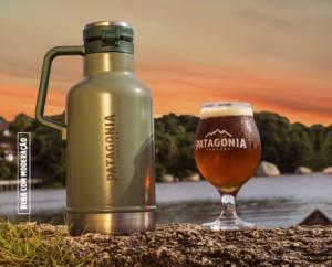 growler patagonia cerveja gelada