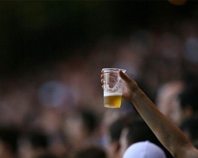 cerveja estádio